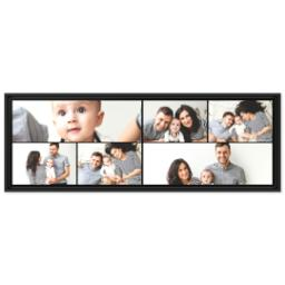 Thumbnail for 12x36 Collage Canvas With Floating Frame with Custom Color Collage design 1