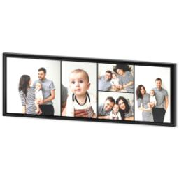 Thumbnail for 20x60 Collage Canvas With Floating Frame with Custom Color Collage design 2
