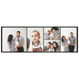 Thumbnail for 20x60 Collage Photo Canvas with Custom Color Collage design 2