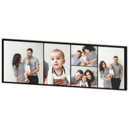 Thumbnail for 20x60 Collage Photo Canvas with Custom Color Collage design 3