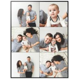 Thumbnail for 30x40 Collage Photo Canvas with Custom Color Collage design 2