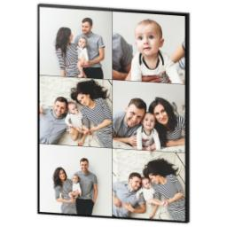Thumbnail for 30x40 Collage Photo Canvas with Custom Color Collage design 3