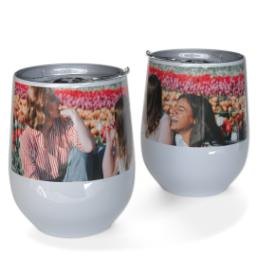 Thumbnail for 10oz Wine Tumbler with Full Photo design 1