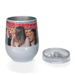 Thumbnail for 10oz Wine Tumbler with Full Photo design 3