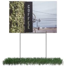Thumbnail for Photo Lawn Sign 12x18 (with H-Stake) with Full Photo design 1