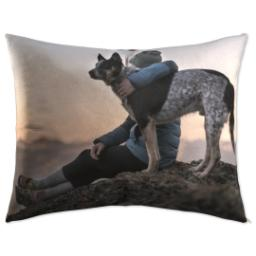 Thumbnail for Pet Bed Plush Fleece 50x40 with Full Photo design 1