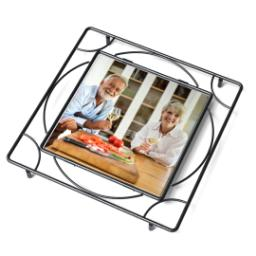 Thumbnail for Ceramic Tile Trivet with Full Photo design 2