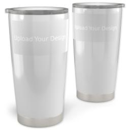 Thumbnail for Vacuum Travel Tumbler, 20oz with Upload Your Design design 1