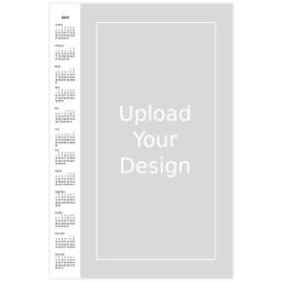 Thumbnail for Poster Calendar, 12x18, Matte Photo Paper with 2019 Calendar Poster: Upload Your Design design 1