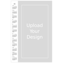 Thumbnail for Poster Calendar, 12x18, Matte Photo Paper with 2020 Calendar Poster: Upload Your Design design 1