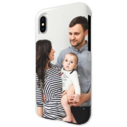 Thumbnail for iPhone X Photo Tough Phone Case with Full Photo design 2