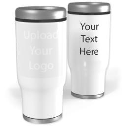 Thumbnail for Stainless Steel Collage Tumbler, 14oz with Upload Your Logo design 2