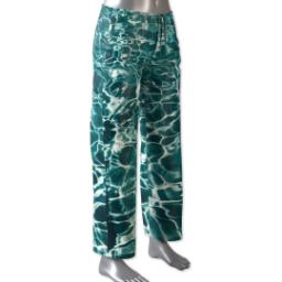 Thumbnail for Pajama Pant (Women L) with Full Photo design 1