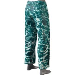 Thumbnail for Pajama Pant (Women XS) with Full Photo design 4