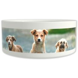 Thumbnail for Pet Bowl 9oz with Full Photo design 1