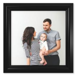 "Thumbnail for 12x12 Photo Matte Print with 12x12 2"" Traditional Black Frame with Full Photo design 1"