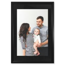 "Thumbnail for 20x30 Fine Art Print with 24x36 2"" Traditional Black Frame with Full Photo design 1"