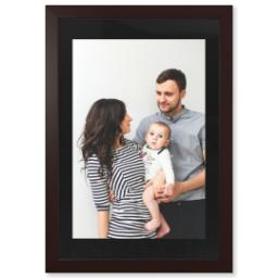 "Thumbnail for 20x30 Photo Matte Print with 24x36 1.5"" Brown Wood Frame with Full Photo design 1"