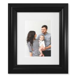 "Thumbnail for 5x7 Photo Matte Print with 8x10 2"" Traditional Black Frame with Full Photo design 1"