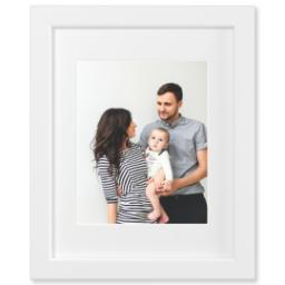 "Thumbnail for 8x10 Fine Art Print with 11x14 1.25"" White Wood Frame with Full Photo design 1"