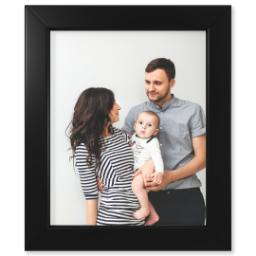 "Thumbnail for 8x10 Photo Matte Print with 8x10 1.25"" Black Wood Frame with Full Photo design 1"