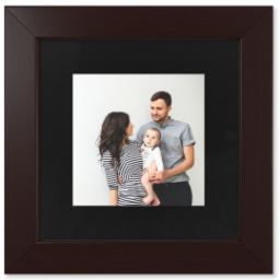 "Thumbnail for 8x8 Fine Art Print with 12x12 1.5"" Brown Wood Frame with Full Photo design 1"