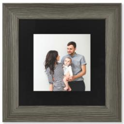 "Thumbnail for 8x8 Photo Matte Print with 12x12 2.25"" Barnwood Frame with Full Photo design 1"