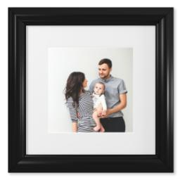 "Thumbnail for 8x8 Photo Matte Print with 12x12 2"" Traditional Black Frame with Full Photo design 1"