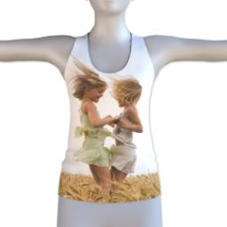 Thumbnail for Photo Racerback Tank (Women M) with Full Photo design 1