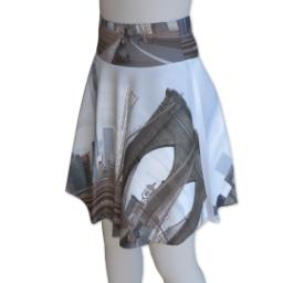Thumbnail for Photo Skater Skirt - Suede (Women XXL) with Full Photo design 1