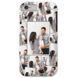 Thumbnail for iPhone 6 Custom Case-Mate Tough Phone Case with Tiled Photo design 1