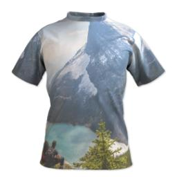 Thumbnail for Photo Short Sleeve T-Shirt (Men L) with Full Photo design 1
