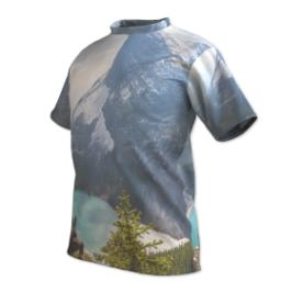 Thumbnail for Photo Short Sleeve T-Shirt (Men L) with Full Photo design 2