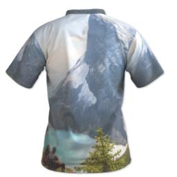 Thumbnail for Photo Short Sleeve T-Shirt (Men L) with Full Photo design 3