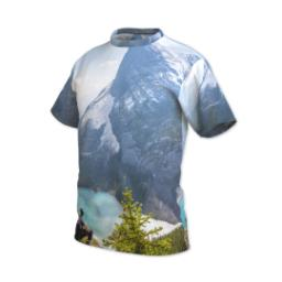 Thumbnail for Photo Short Sleeve T-Shirt (Men M) with Full Photo design 2