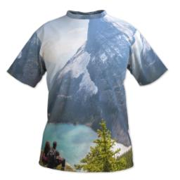 Thumbnail for Photo Short Sleeve T-Shirt (Men XL) with Full Photo design 1
