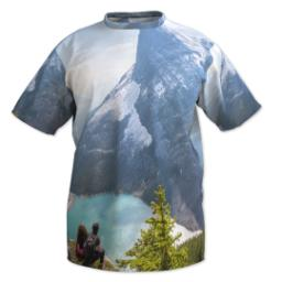 Thumbnail for Photo Short Sleeve T-Shirt (Men XXL) with Full Photo design 1