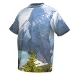 Thumbnail for Photo Short Sleeve T-Shirt (Men XXL) with Full Photo design 2