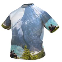 Thumbnail for Photo Short Sleeve T-Shirt (Men XXXL) with Full Photo design 2