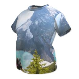 Thumbnail for Photo Short Sleeve T-Shirt (Women L) with Full Photo design 2