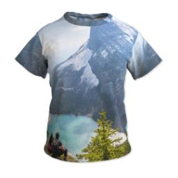 Thumbnail for Photo Short Sleeve T-Shirt (Women M) with Full Photo design 1
