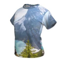 Thumbnail for Photo Short Sleeve T-Shirt (Women M) with Full Photo design 2