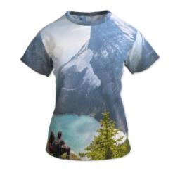 Thumbnail for Photo Short Sleeve T-Shirt (Women S) with Full Photo design 1