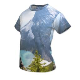 Thumbnail for Photo Short Sleeve T-Shirt (Women S) with Full Photo design 2