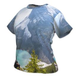 Thumbnail for Photo Short Sleeve T-Shirt (Women XL) with Full Photo design 2