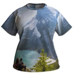 Thumbnail for Photo Short Sleeve T-Shirt (Women XXL) with Full Photo design 1