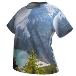 Thumbnail for Photo Short Sleeve T-Shirt (Women XXL) with Full Photo design 2