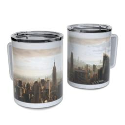 Thumbnail for Insulated Coffee Mug, 11oz with Full Photo design 1
