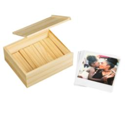 Thumbnail for Retro Prints With Wooden Box (set of 25) with Full Photo design 2