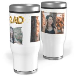 Thumbnail for Stainless Steel Tumbler, 13oz with Balloon Grad design 1